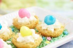 Dessert di Pasqua Fotografia Stock Libera da Diritti