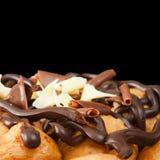 Dessert di Profiterole Fotografia Stock Libera da Diritti