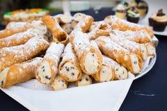 Dessert di ricevimento nuziale Fotografia Stock Libera da Diritti