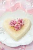 dessert di ricotta   Fotografia Stock
