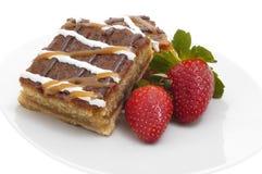 Dessert di scricchiolio della caramella Fotografia Stock Libera da Diritti