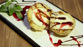 Dessert di sguardo minuta video d archivio
