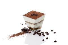 Dessert di Tiramisu fotografia stock