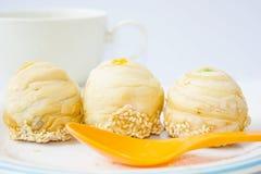 Dessert di tre Tradditional, alimento tailandese Fotografia Stock