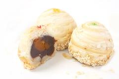 Dessert di tre Tradditional, alimento tailandese Immagini Stock Libere da Diritti
