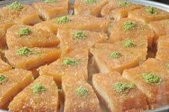 Dessert dolce a Costantinopoli immagine stock