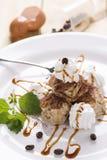 Dessert dolce del caffè Immagine Stock Libera da Diritti