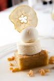 Dessert dolce del gelato Fotografie Stock