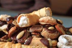 Dessert dolci casalinghi fotografia stock libera da diritti