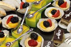 Dessert doux photos libres de droits