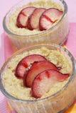 Dessert doux avec des plombs Photo libre de droits