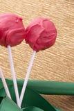Dessert doux de Cakepop pour l'amour Images libres de droits