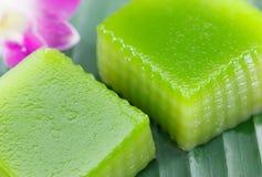 Dessert doux thaï photographie stock