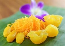 Dessert doux thaï image libre de droits