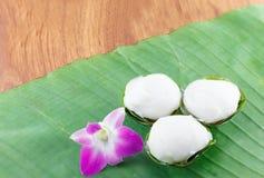 Dessert doux thaï images libres de droits