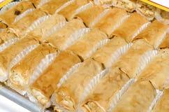 Dessert du Moyen-Orient photos stock