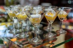 Dessert e Bekary Fotografie Stock Libere da Diritti