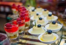 Dessert e Bekary Fotografie Stock
