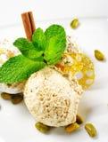 Dessert - Eigengemaakt Roomijs royalty-vrije stock fotografie