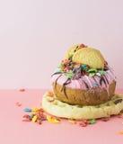 Dessert epico immagine stock