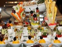 Dessert et boisson arabes Photographie stock libre de droits