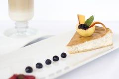 Dessert et café Images stock