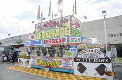 Dessert fair food stand Stock Images