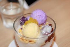Dessert famoso di alone di alone Immagini Stock