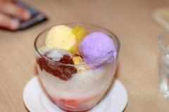 Dessert famoso di alone di alone Immagine Stock