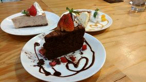 Dessert, Food, Chocolate Cake, Chocolate Brownie stock photos