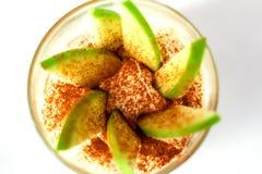 Dessert frais de pomme Images libres de droits