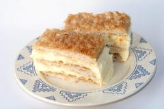 Dessert francese Fotografie Stock