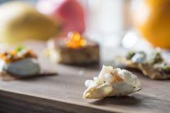 Dessert - Franse heerlijke keuken Stock Afbeeldingen