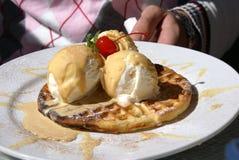 Dessert freddo Fotografia Stock Libera da Diritti