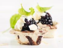 Dessert fruit cake Stock Photography