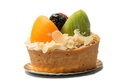Dessert fruit tart  assorted tropical fruits Royalty Free Stock Photography