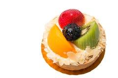 Dessert fruit tart  assorted tropical fruits Stock Images