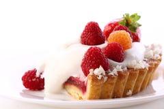 Dessert Fruitcake Cake With Blueberry Royalty Free Stock Images