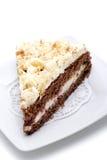 Dessert - gâteau d'amandes photos stock