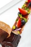 Dessert - Ganache Stock Image