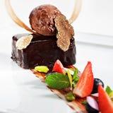 Dessert - Ganache royalty free stock images