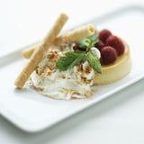 Dessert gastronome. photographie stock