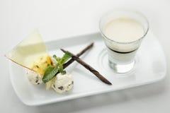 Dessert gastronomico. Immagini Stock