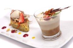 Dessert gastronomico Fotografie Stock Libere da Diritti