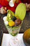 Dessert giapponese del tè verde Immagine Stock Libera da Diritti