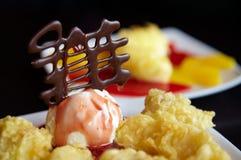 Dessert giapponese tradizionale Fotografie Stock Libere da Diritti
