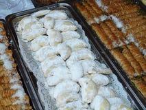 Dessert greco Fotografie Stock Libere da Diritti