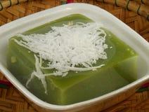 Dessert green with pandan Stock Images