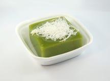 Dessert green with pandan Royalty Free Stock Photos