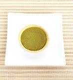 Dessert Green Tea Tarts Stock Photos